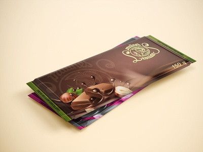 """LEONIDAS"" Concept Chocolate package design"