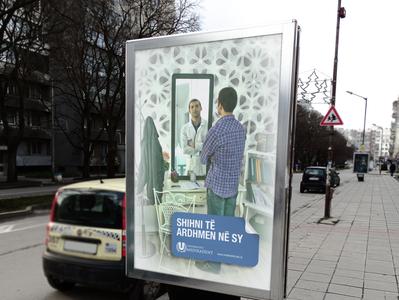 """MEDIKADENT UNIVERSITY"" Campaign - Citylight"