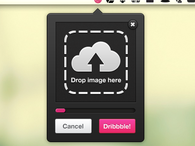 Mac Upload for Dribbble upload mac ui