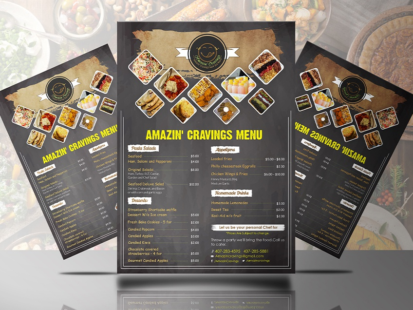 Modern Food Menu Design ad flyer flyer design menu template menu design brand menu card menu design agency restaurant menu menu design
