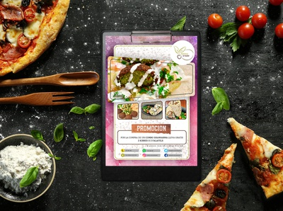 Restaurant Promotion Print Design