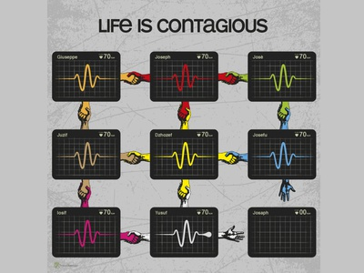 Life is Contagious