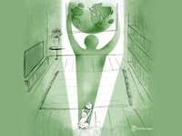 Tomorrow branding design illustration tomorrow atlante world game. gametoday children future