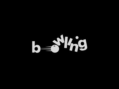 Bowling concept logo typography branding lettering illustrator vector vectorart illustration art logos logo illustration design ball strike bowling ball bowling
