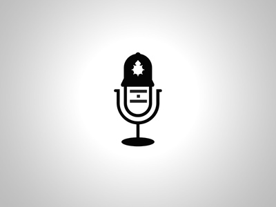 English Police Call Center branding vector design illustration justforfun wip logos logo microphone queen star chat blog callcenter policeman police english