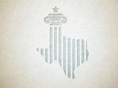 Texas Law star texture column roman justice lawyer law texas