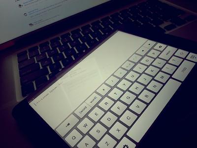 iA Writer inspired code editor for the iPad