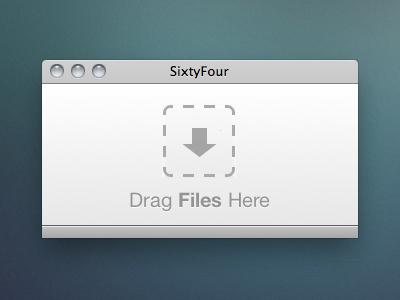 SixtyFour.app sixtyfour base64 encoder mac app css3