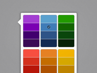 iPad-style color picker for jQuery