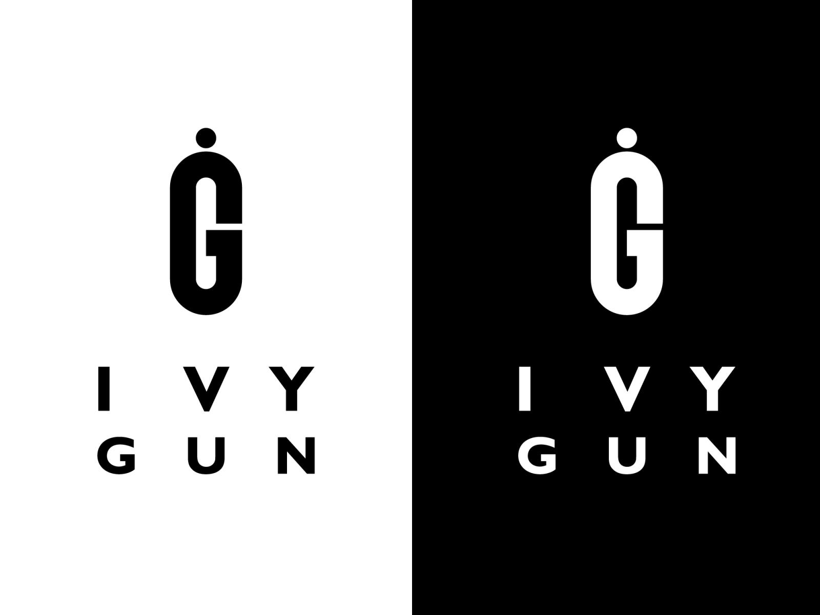 Ivy Gun - Logo Design by Toni Gabrić on Dribbble