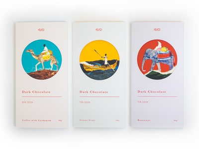 JS dark chocolate packages packaging design branding chocolate bar chocolate package package design illustration typography