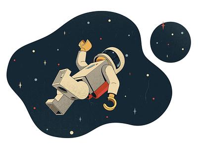Lego spaceman art 2d easymetry space spaceman legoman lego design cartoon character vector illustration