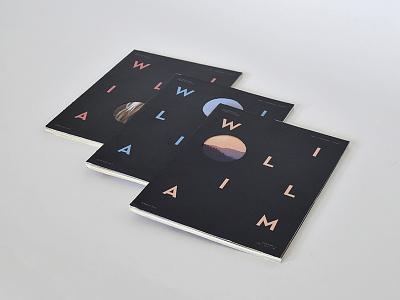 WILLIAM magazine magazine cover design william minimalistic clean editorial