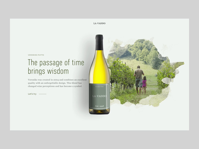 Wine ecommerce site interactions.