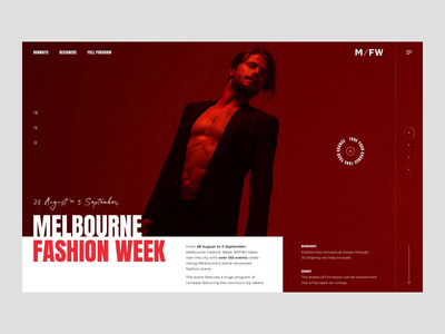 Melbourne fashion week