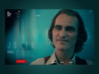 Cinema website / Concept