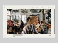 Photographer Portfolio / Concept