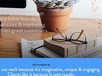 Creative boutique