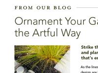 Ornament Your Garden