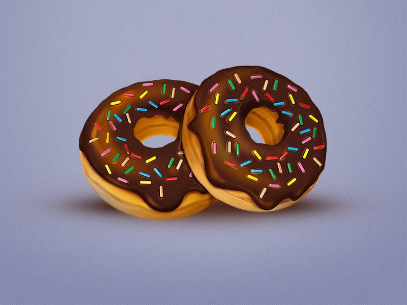 Tasty Bites Icon set - Donuts icons food donuts pixelkit ui
