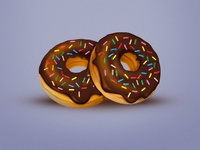 Tasty Bites Icon set - Donuts