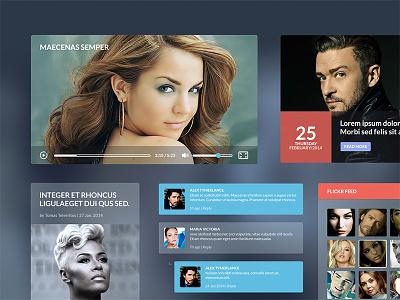 Iceberg GUI kit ui kit kit ui gui elements icons