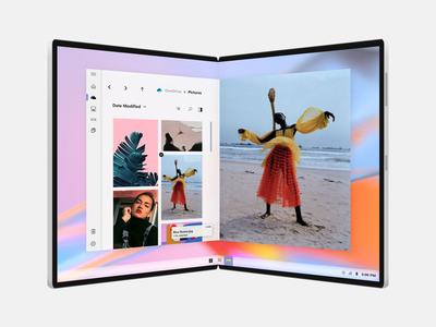 File Explorer for Microsoft Light OS