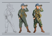 soldier character cncept