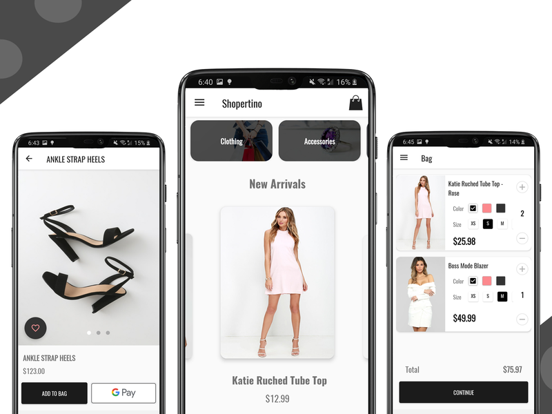 Ecommerce Android App android app development android app design android app android kotlin mobile shopping cart shopping app shopping ecommerce shop ecommerce app ecommerce design ecommerce