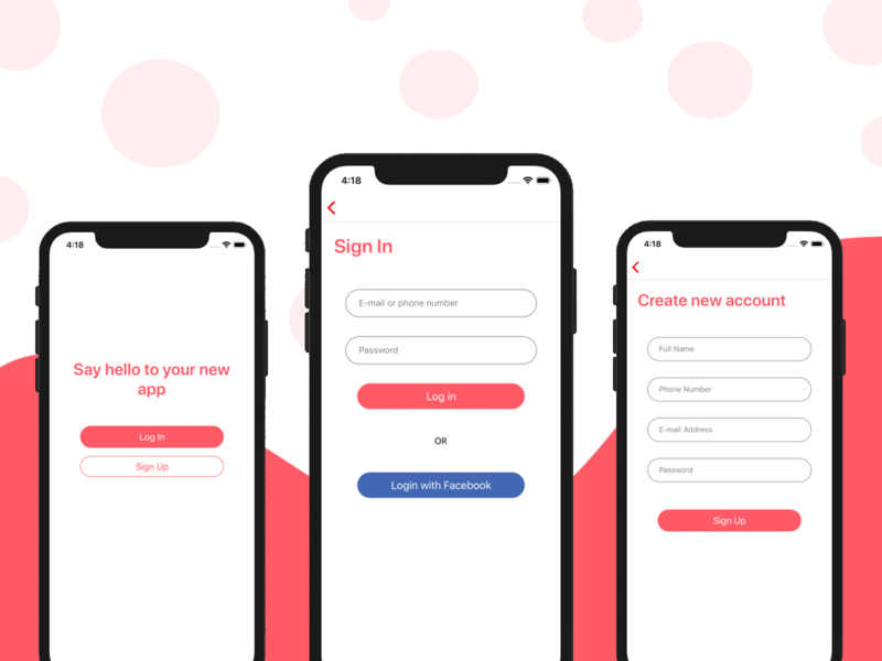 React Native Starter Kit mobile app design mobile app development mobile app mobile templates starter react native