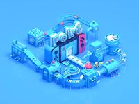 Pokémon factory