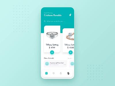 Tiffany card illustration ae app design ios icon ux ui