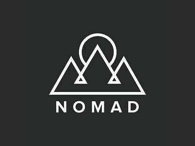 Nomad WIP mark simple mark branding logo nomad lines line design wip logo design
