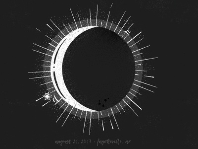 Partial Eclipse in Fayetteville fayetteville eclipse