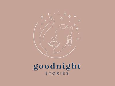 Goodnight Stories Jewelry Co. branding logo