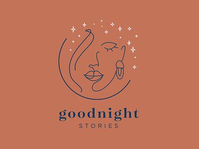 Goodnight Stories Jewelry Co. logo branding
