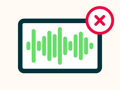 Signal Error Icon flat icon signal error