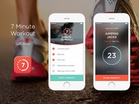 7 minute workout app for iOS