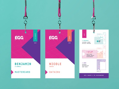 EGG Conference — Lanyards