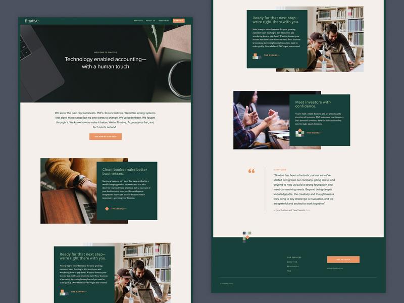 Finative — website