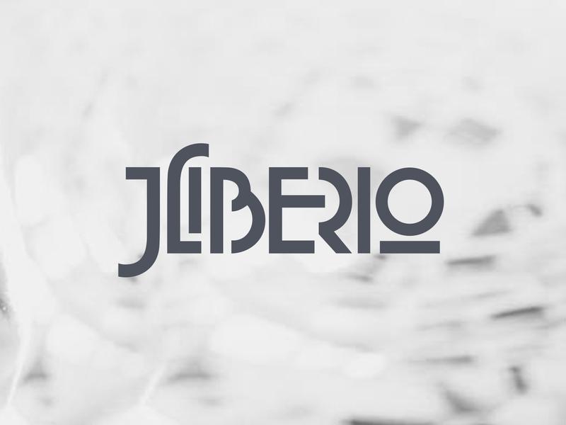 Geometric Logo for a Singer / Songwriter mark identity logo wordmark songwriter singer typography geometric branding