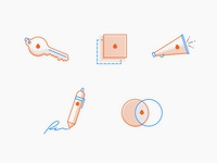 Values Icons — Percolate