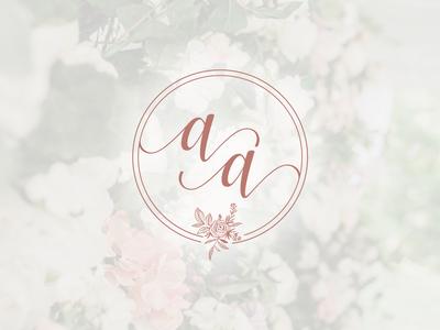 AA Wedding Monogram