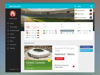 World Cup 2014 Dashboard