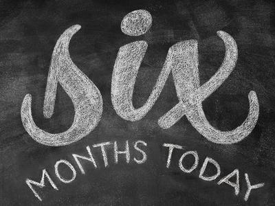 12 months in chalk / SIX