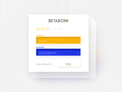 01   Sign Up squares ui signin dailyui