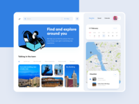 Dashboard - Explore and Travel