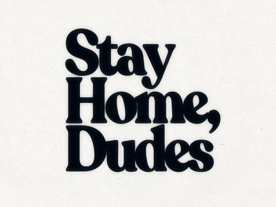 Stay Calm and Stay Home on carry calm dudes dude home stay public message psa health quarantine virus illustrator poster design branding type typography