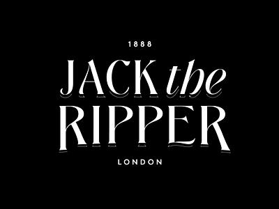 Serial Series - 03 - Jack the Ripper ripper jack the ripper jack serial serial killer newspaper england london 1800s script illustration branding design type typography