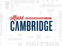Snapchat Geofilter - Cambridge, MA
